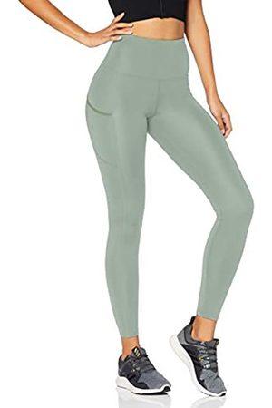 AURIQUE Amazon Brand - Women's High Waisted Running Leggings, 12