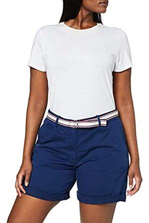 Tommy Hilfiger Women's Cotton Stretch Dobby Bermuda Slim Jeans