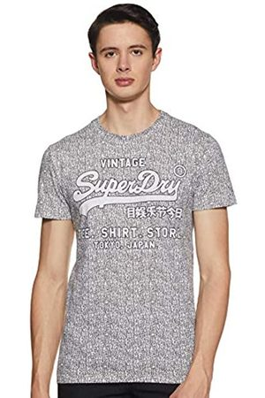 Superdry Men's Shirt Shop AOP Tee Kniited Tank Top