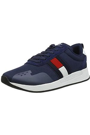 Tommy Hilfiger Flag Flexi Tommy Jeans Sneaker, Men's Low-Top Sneakers, (Ink 006)