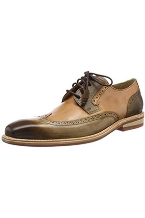 Melvin & Hamilton Men's Marvin 13 Brogues, (Mid Tan Crust-Mid -Crust-Tan-Modica- -Lining-Rich Tan)