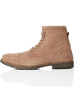 FIND Max, Men's Ankle Boots Biker Boots, (Almond)