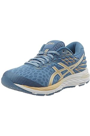 Asics Women's Gel-Cumulus 21 Running Shoe, Gray Floss/Champagne