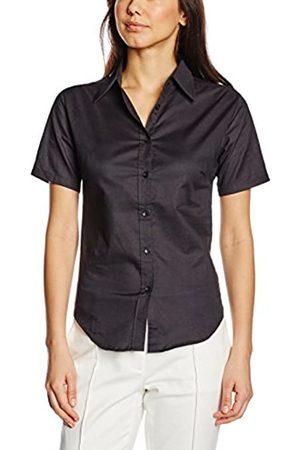Fruit of the Loom Women's Oxford Short Sleeve Shirt