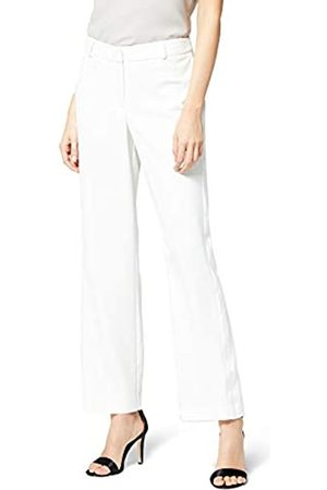 TRUTH & FABLE Amazon Brand - Women's Wide Leg Trousers, 16