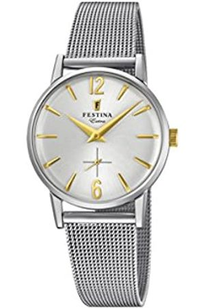 Festina Womens Analogue Classic Quartz Watch with Stainless Steel Strap F20258/2