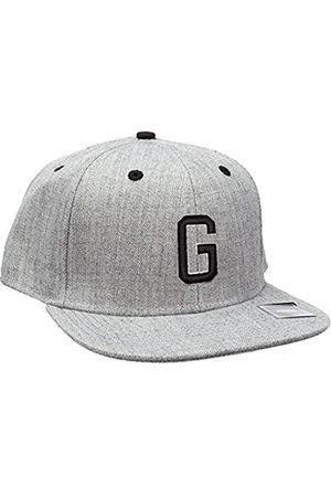 MSTRDS Letter Snapback G Baseball Cap, -Grau (G 1180,4622)