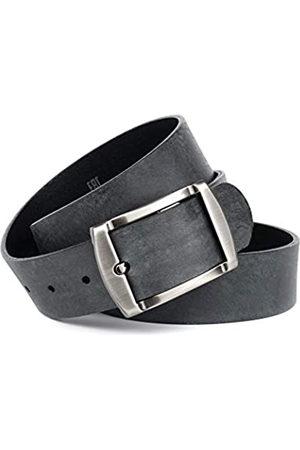 Anthoni Crown Men's Ledergürtel Belt
