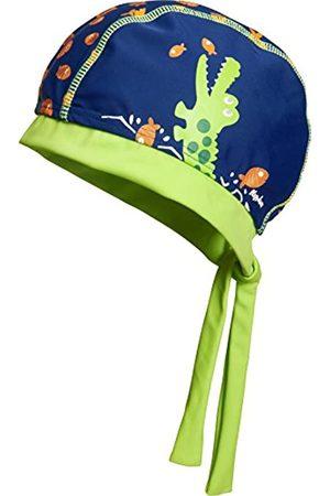 Playshoes Boy's UV Protection Headscarf, Bathing Cap Crocodile Headband