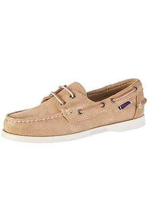 Sebago DOCKSIDES Men's Boat Shoes, (Sand Suede)