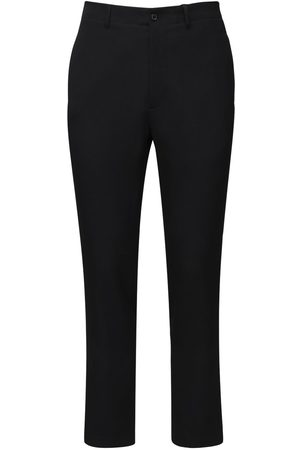 Rochas Dry Wool Classic Pants W/ Belt