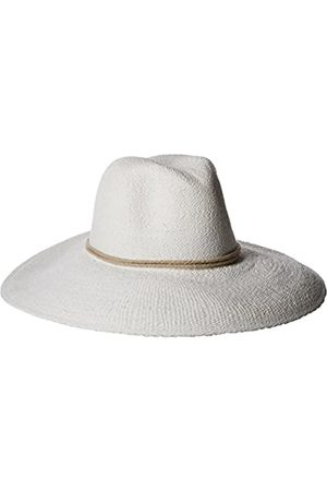ale by Alessandra Women's Praia Woven Toyo Hat with Contrast Rope Trim