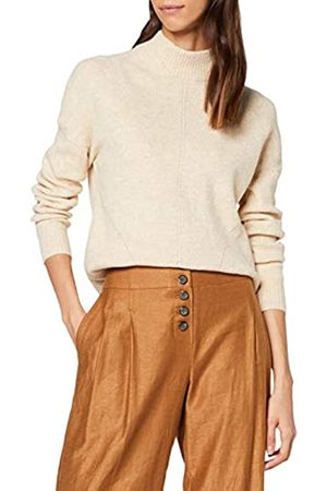 Warehouse Women's Cosy Skinny Ribbed Funnel Neck Jumper Pullover Sweater