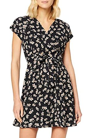 Mela Women's Ditsy Daisy Wrap Front Skater Dress Casual