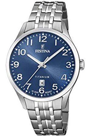 Festina Mens Analogue Quartz Watch with Titanium Strap F20466/2