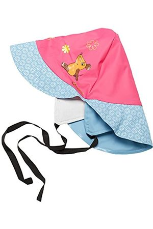 Playshoes Girl's Regenmütze Maus, Baumwollfutter Cap