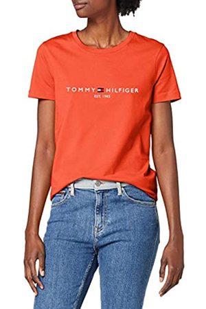 Tommy Hilfiger Women's New TH ESS Hilfiger C-NK TEE SS T-Shirt