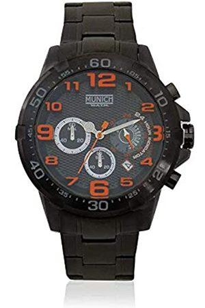 Munich Unisex Adult Analogue Quartz Watch with Stainless Steel Strap MU+139.1B