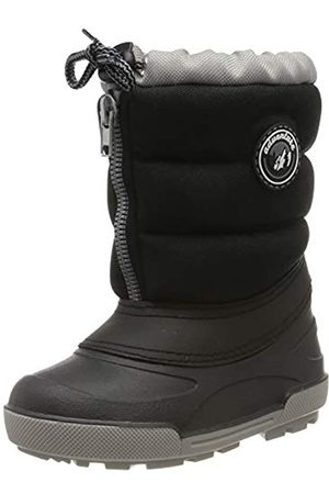 Beck Unisex Kids' Polar Snow Boots, (Schwarz 02)