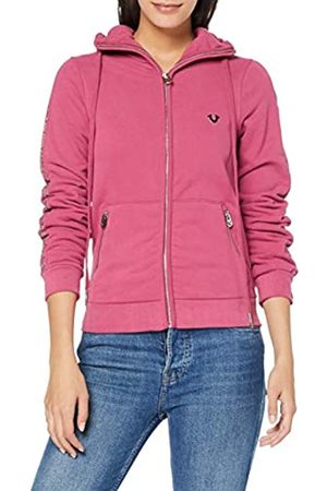 True Religion Women's Hooded JKT Rhinestones Hoodie