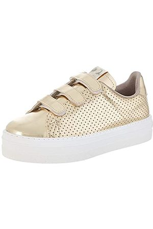 victoria Unisex Adults' Barcelona Metal Perforado Trainers, (Platino 594-40)