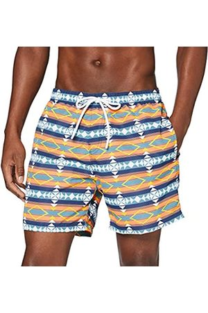 Urban classics Men's Badehose Inka Swim Shorts Trunks