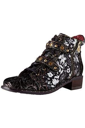 LAURA VITA Women's Emcmao 02 Ankle Boots, (Noir Noir)