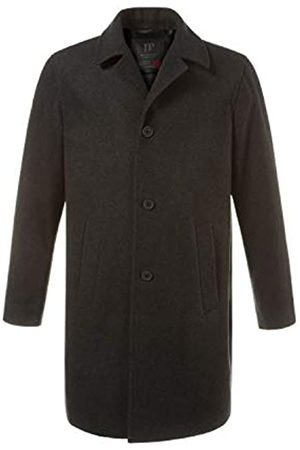 JP 1880 Men's Big & Tall Long Line Smart Overcoat Dark XXXXX-Large 705472 11-5XL