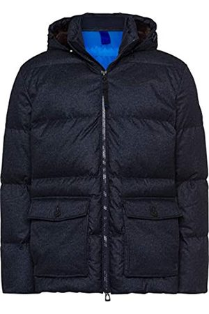 BRAX Men's Arctic Outdoor Wool Look Fake Daune Jacket