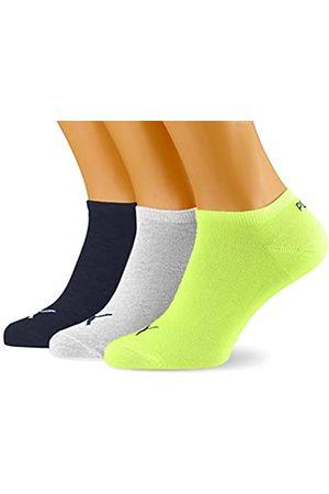 PUMA Men's Unisex Sneaker Plain 3P Sock
