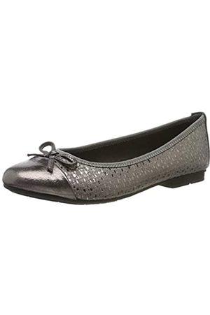 Jana 100% comfort Women's 8-8-22109-23 Ballet Flats, ( Metallic 212)