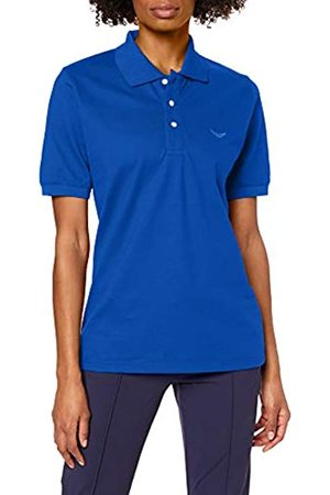 Trigema Unisex Polo Shirt Blau (royal 049) 42