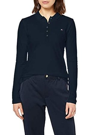 Tommy Hilfiger Women's Heritage Long Sleeve Slim Polo Shirt