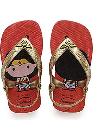 Havaianas Unisex Babies' Heroes Walking Sandals, (Strawberry 2162)
