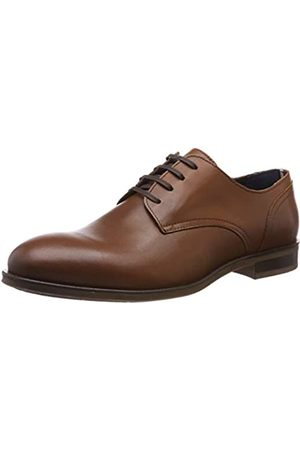 Tommy Hilfiger Herren DRESS CASUAL LEATHER SHOE Oxfords, Braun (Cognac 606)