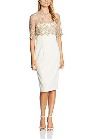 Gina Bacconi Women's Antique Embroidery Top and Crepe Dress