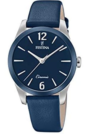 Festina Womens Analogue Quartz Watch with Leather Strap F20473/5