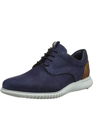 LLloyd Men's Aristo Low-Top Sneakers, (Pacific/ /Cognac 2)