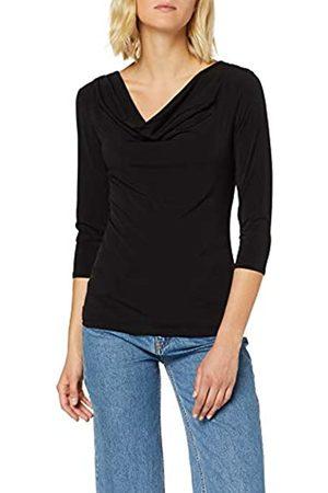 Dorothy Perkins Women's Blk Ity Cowl Neck Tp T-Shirt