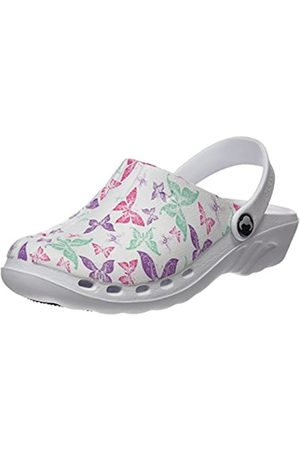 Suecos Sweaters Oden Print Unisex Adult's Work Clogs,Multicolor 22