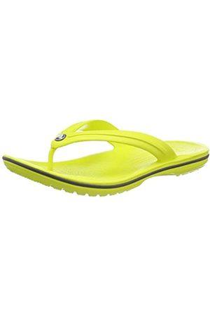Crocs Unisex Adults' Crocband Flip Flip Flop Sandals Flip Flop, (Citrus/Slate )