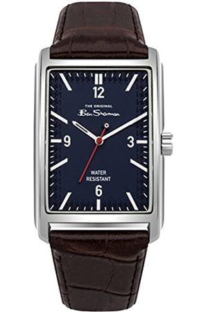 Ben Sherman Mens Analogue Classic Quartz Watch with PU Strap BS013UBR