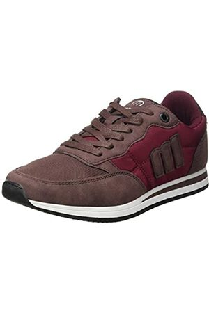MTNG Attitude Men's 84086 Low-Top Sneakers, (/Mesh 10 Burdeos C47749)