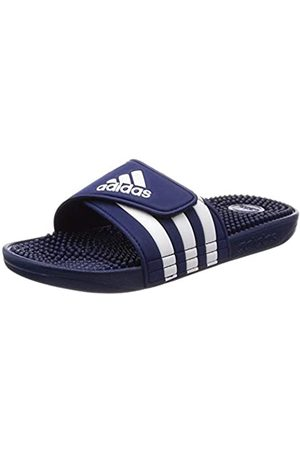 adidas Unisex Adult's Adissage Beach & Pool Shoes, (Dark /Ftwr )
