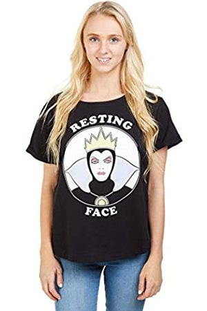 Disney Women's Resting Witch FACE T-Shirt