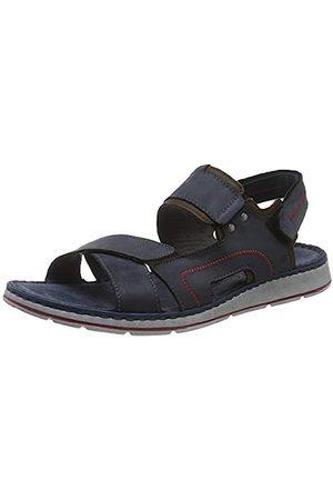 Rohde Men's Brunello Ankle Strap Sandals, (Ocean 56)