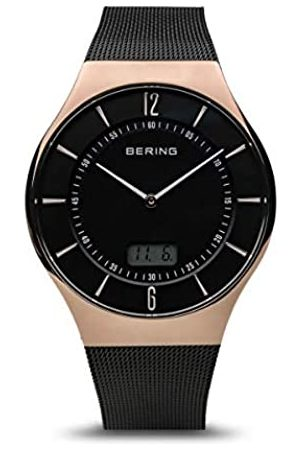 Bering Mens Analogue Quartz Watch with Stainless Steel Strap 51640-166