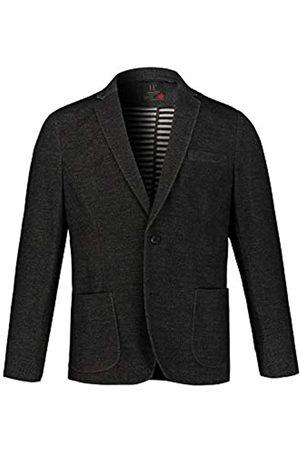 JP 1880 Men's Big & Tall Sweat Blazer Charcoal XXXXXX-Large 721132 11-6XL