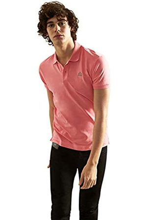 La Martina Men's Man Polo S/s Piquet Stretch Shirt