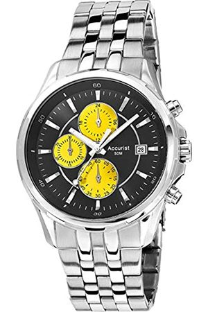 Accurist Mens Chronograph Quartz Watch with Stainless Steel Strap MB932BY.01